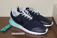 Nike Air Roshe Run NM W SP Obsidian Bleached Turquoise 652804-403 Tech Fleece