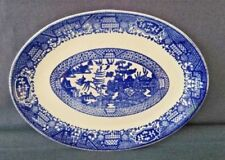 Platter & Vintage Original Blue Willow China u0026 Dinnerware | eBay