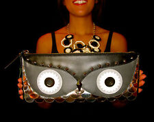 NWT Kate Spade Wise Owl ENVELOPE Clutch LEATHER STUDS
