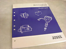 NEW 1998 Volvo Penta Workshop Manual Electrical & Ignition (BY)#7797425-5  3-E-4