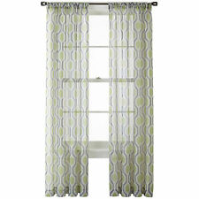 NIP $40 Studio Rod Pocket Panel Structure 50 x 72 NEW Gladiator Gray Multi Sheer