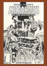 Michael Golden's Micronauts Artist's Edition 2020 NIB HC IDW #IR