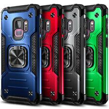 Para Samsung Galaxy S9/S9 Funda Protectora De Teléfono Soporte Anillo Plus con protector de pantalla