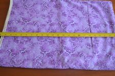 By 1//2 Yd Purple Patchwork Quilting Cotton Fabric Traditions//2001 N379