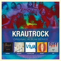 KRAUTROCK - ORIGINAL ALBUM SERIES 5 CD 43 TRACKS  NEW+ PARZIVAL/ASTERIX/GIFT/+