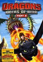 Dragons: Riders of Berk - Part 2 [New DVD] 2 Pack, Ac-3/Dolby Digital, Dolby,