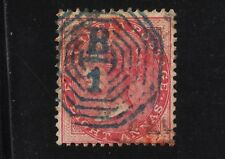 INDIA #25 Used 8a Rose 1865 QUEEN VICTORIA WMK #38 Elephant Head SCV $85.00