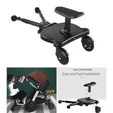 Baby Stroller Prams Glider Board with Dismountable Seat, Holds Kids Up to 55 lbs