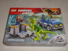 New In Box Lego Set Jurassic World Juniors 10757 Raptor Rescue Truck 85 Pcs Nib