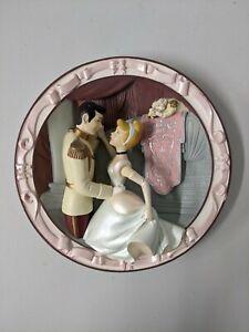 "Disney Cinderella ""The Girl of His Dreams"" 3D Collectible Plate"