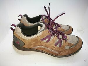 Clarks wave Walk brown suede casual trainers size 6