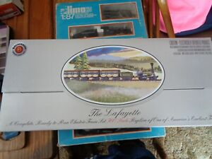 Bachmann Ho Scale B&O The Lafayette  Train Tracks & Transfomer Only. NEW
