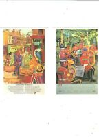 2 POSTCARDS PUBLISHED IN UK BY LONDON TRANSPORT MUSEUM   LONDON
