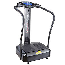 2000W Crazy Fit Whole Body Vibration Plate Machine Massage Massager Black