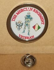 The Mercian Regiment Veteran Veteran lapel pin badge.