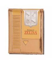 The Legend of Zelda Gold Video Game Cartridge Bifold Wallet Classic Nintendo NES