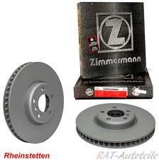 2x ZIMMERMANN SPORT-BREMSSCHEIBE Ø280 VOLL HINTEN BMW 3-ER E36 BJ 90-99