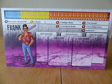 Zombicide-Frank-personaggio Dashboard Card (solo scheda)
