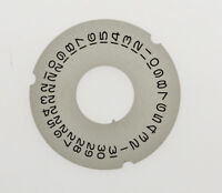 Rolex original silvered date disc Day-Date (sapphire crystal) new old stock 153