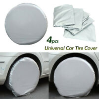 "4x 27"" Car Auto Wheel Tire tyre Cover Bag For Truck Trailer RV Camper Motorhome"