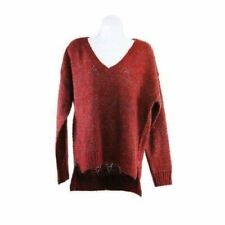 Scotch and Soda Womens Ruby Red Knit Jumper Size 6 RRP124 RDEC