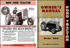 1953-1954-1955 Ford NAA Brochure and Owner Manual set includes 53 Golden Jubilee