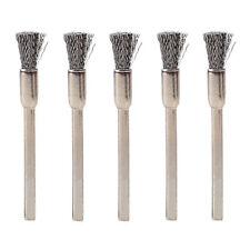 2PCS 3mm Rotary Steel Wire Wheel BrushES Cup Tool Shank Mini Drill Bit Set Tool