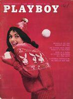 PLAYBOY FEBRUARY 1961 Barbara Ann Lawford Girls of New York J Paul Getty WOC1