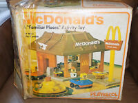 Playskool McDonald's Play Set with Box 1970's