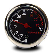 Steel Car Temperature Thermometer Meter Dashboard Table Ornament Decoration New