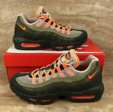 new product 42e6f 5a400 Nike Air Max 95 OG String Orange Green Retro Mens Shoes Sneakers