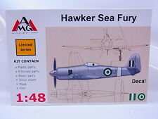 Interhobby 43643 AMG 48607 Hawker Sea Fury 1:48 Bausatz NEU OVP