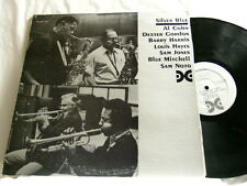 AL COHN & DEXTER GORDON Silver Blue Mitchell Sam Jones Barry Harris Sam Noto LP