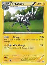 Zebstrika 42/114 Black & White Uncommon MINT! Pokemon