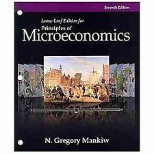 Principles of Microeconomics by N. Gregory Mankiw (2014, Ringbound, 7th Edition)