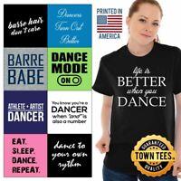 Best Tee Shirt Ballet T-Shirt Ladies TShirts Artists T Shirt For Womens Gifts