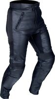 Buffalo Raptor Black Leather Sport Motorcycle Trousers New £139.99!!