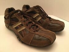 Mens Skechers Brown Oxford Shoes Size 10.5