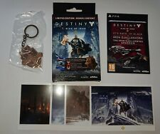 Official Activision Bungie Destiny Rise Of Iron Keychain & Art Cards. New