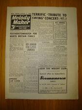 MELODY MAKER 1943 #524 JAZZ SWING KEN JOHNSON JAMBOREE