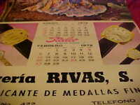 VINTAGE 1972 STEELCO AUTOMATIC MOVEMENT WATCHES CALENDAR -  GUADALAJARA, JAL