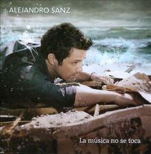 Alejandro Sanz : La Musica No Se Toca CD