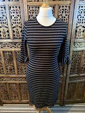 M/&S Collection Striped Black /& White Striped Shift Sun Dress UK 12 14 16 /& 22