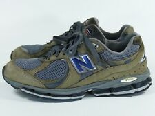 separation shoes 490a4 d6fc3 New Balance 2002 Men s 12 Gray Navy Made in USA - leather tan 2000 MR2002CU