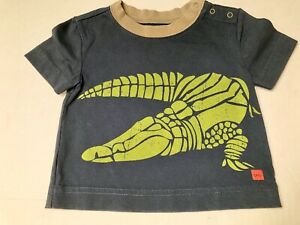 Tea Collection Pullover Top Boys Size 3-6 months~XS~Alligator