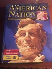 Holt American History: The American Nation by Boyer's 2001 Acceptable 0030646812