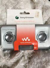 Sony Ericsson Portable Speakers In White MPS-60 Genuine