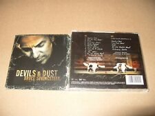 Bruce Springsteen - Devils & Dust (2005) cd + dvd discs + Inlays are Ex +