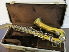 BUESCHER Aristocrat Tenor Saxophon Serie IV