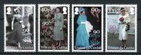 Tristan da Cunha 2016 MNH Queen Elizabeth II 90th Birthday 4v Set Royalty Stamps